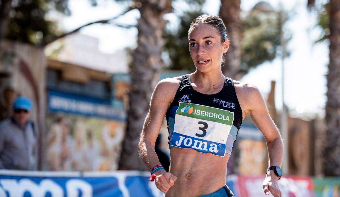 Laura García-Caro logra el bronce en el Nacional de 20km marcha
