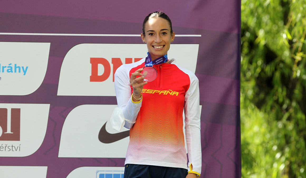 Laura García-Caro logra un nuevo podium en la Copa de Europa de Marcha