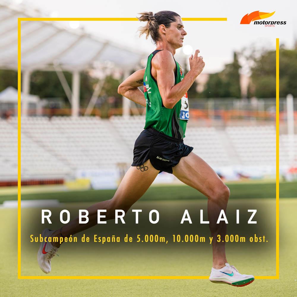 Roberto Alaiz y Fátima Diame se unen a Motorpress Sports
