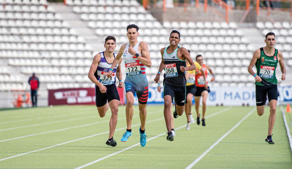 Plata de Eric Guzmán y bronce de Marco Leonardo en los 800 metros del Nacional Sub-20