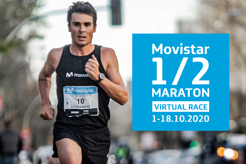 Movistar Medio Maratón de Madrid turns Virtual Race!