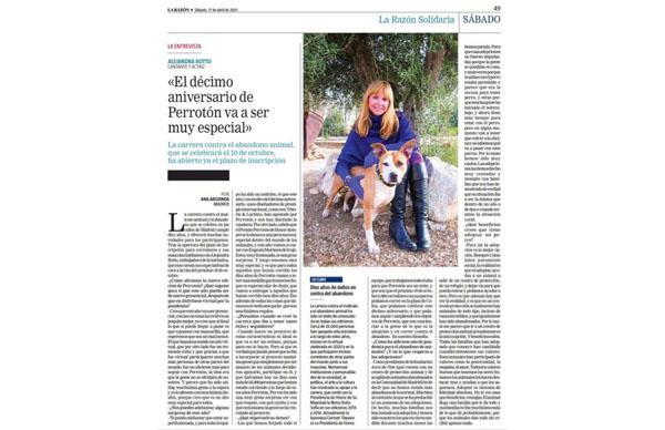 Entrevista Alejandra Botto / 10º Aniversario Perrotón España