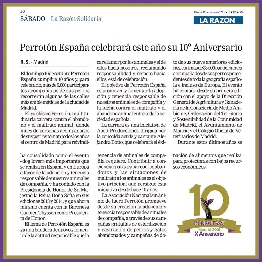 Perrotón España celebrará este año su 10º Aniversario