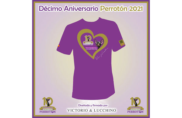 Victorio & Lucchino diseñan la camiseta oficial de Perrotón 2021