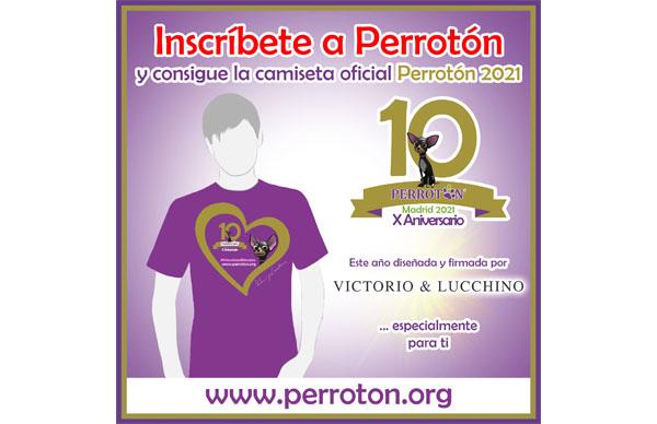Camiseta Oficial Perrotón Madrid 2021 / Victorio&Lucchino