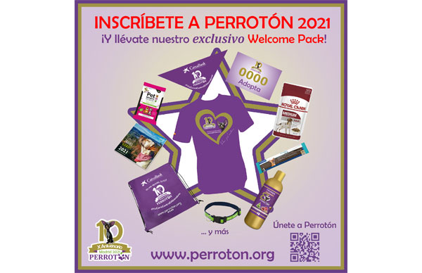 Welcome Pack Perrotón Madrid 2021 X Aniversario