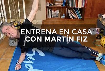 Los 18 ejercicios de Martín Fiz para entrenar en casa