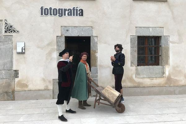 Visita teatralizada al Observatorio del Arte