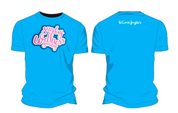 Actividades de Fitness:<br/>Reglao Camiseta Azul