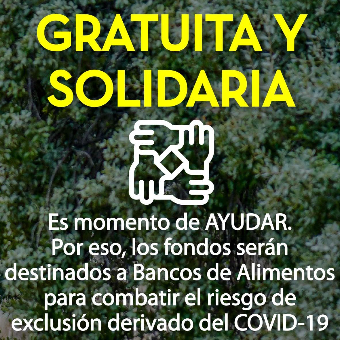 Gratuita y solidaria