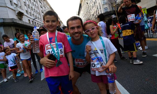 Las carreras infantiles, imprescindibles en la TotalEnergies Milla Internacional de Madrid