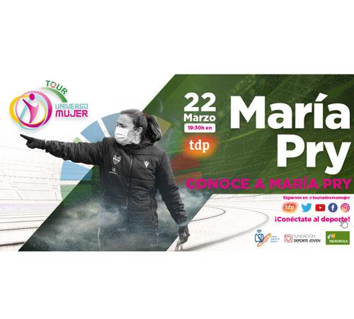 La escalada de María Pry hasta convertirse en una referente de los banquillos en la Primera Iberdrola