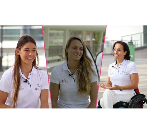 Teresa Perales y Garazi Sánchez avalan el deporte como la mejor plataforma para superar las adversidades