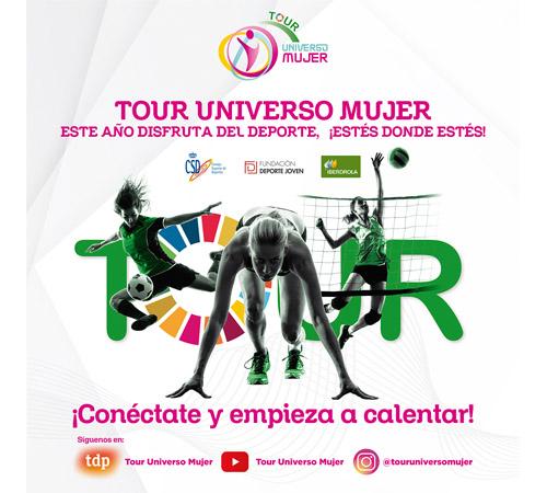 El nuevo Tour Universo Mujer: retos, entrenamientos, foro, exhibiciones y mucho deporte