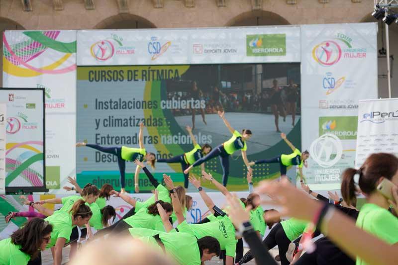 Horarios y actividades oficiales Maratón de Fitness Tour UM Huelva