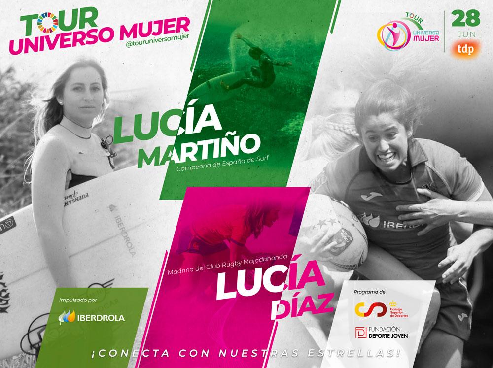Lucía Martiño, el nuevo talento del surf español