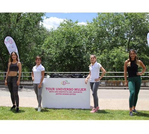 Deporte, salud y música en el primer programa del Tour Universo Mujer