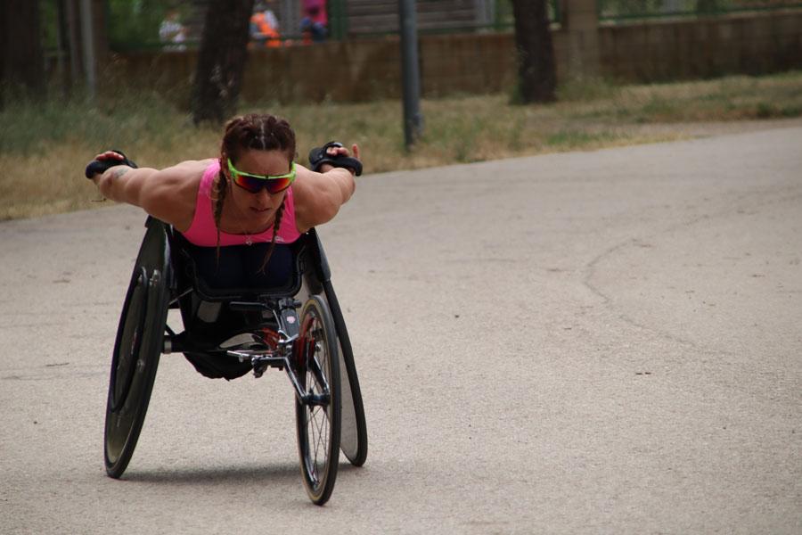 Eva Moral y sus primeros Juegos Paralímpicos