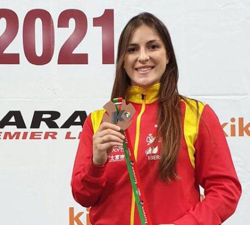 Laura Palacio, bronce en la Premier de Lisboa