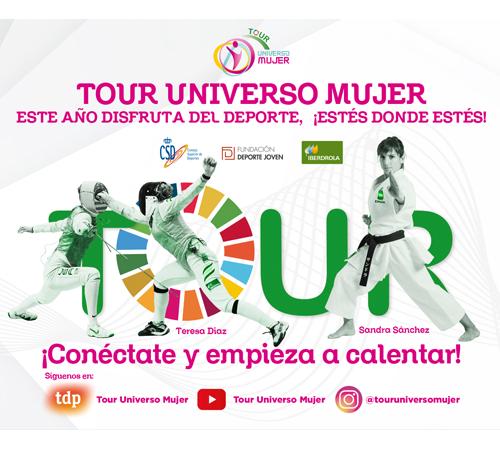 El Tour Universo Mujer estrena su versión digital