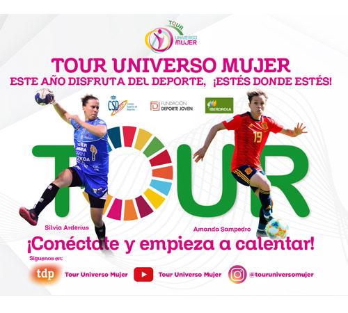 Amanda Sampedro y Silvia Arderius protagonistas del segundo programa Tour Universo Mujer