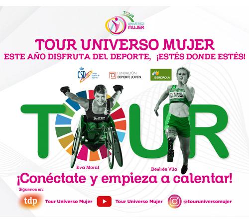 El Tour Universo Mujer se vuelca con el deporte adaptado