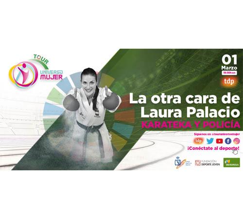 Laura Palacio, pura vocación entre la Policía y el kumite