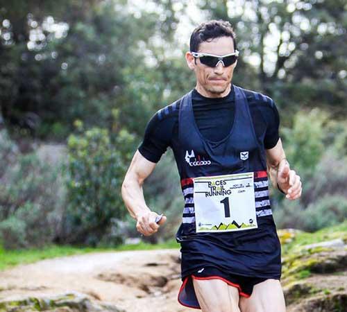 Enrique Meneses entrena con nosotros el Campeonato de España de Carreras de Montaña
