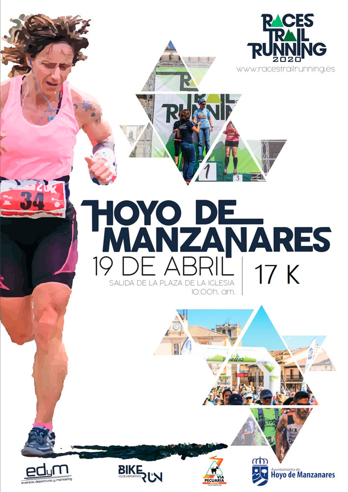 Cartel Trail Hoyo de Manzanares- 2020