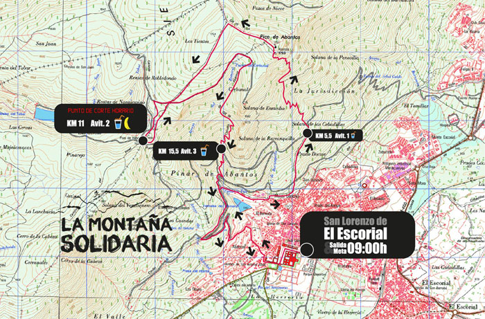 Recorrido Trail 20 km