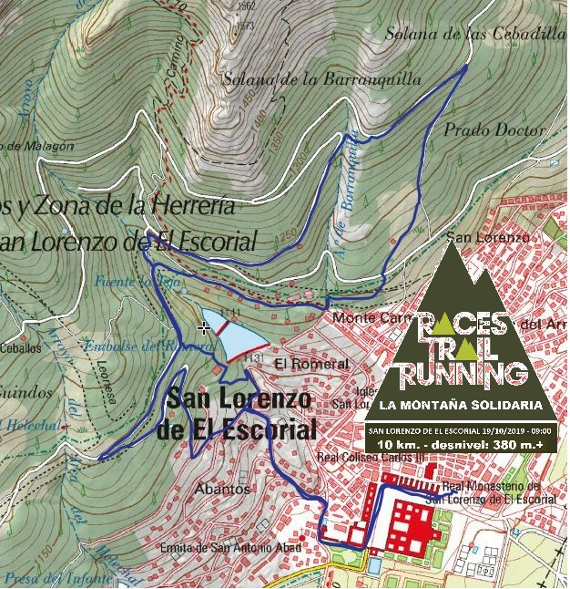 Recorrido Trail 10 km