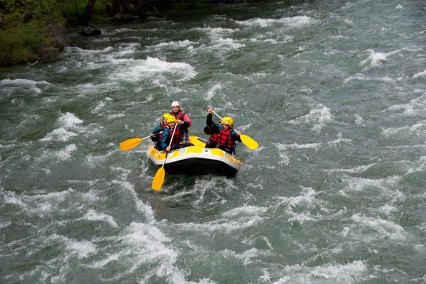 Rafting en el Noguera Palleresa