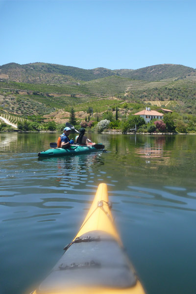 Kayak en el Duero