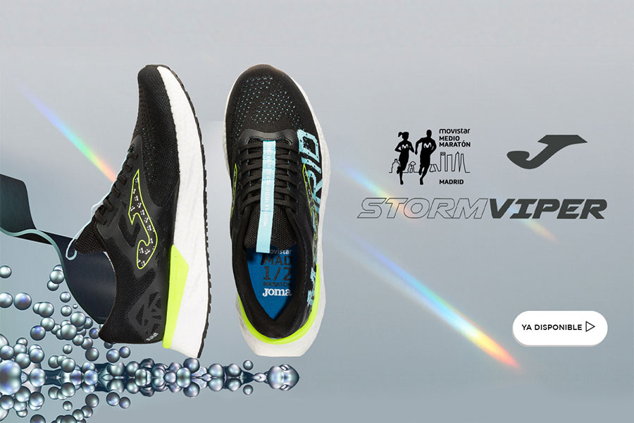 Joma. Zapatillas oficiales del Movistar Medio Maratón de Madrid