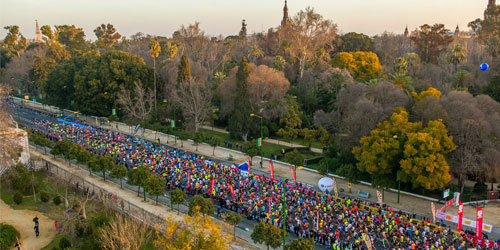 El Zurich Maratón de Sevilla llega a los 6000 corredores y cambia el precio de su inscripción