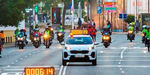 Dispositivo especial de movilidad con motivo del Zurich Maratón de Sevilla 2020, con afecciones al tráfico desde la noche del jueves y refuerzo del transporte público