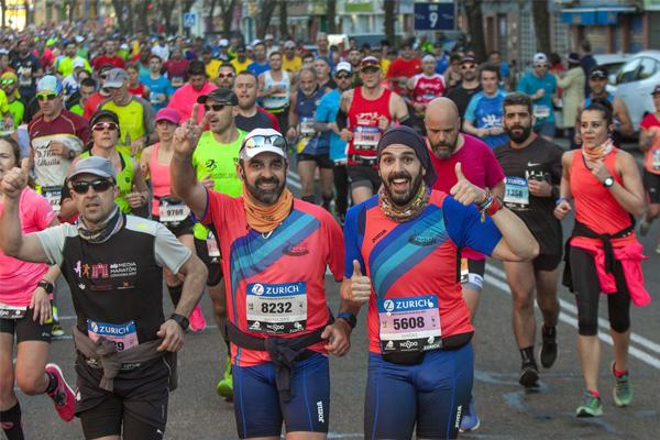 Entrenamientos oficiales del Zurich Maratón de Sevilla 2020