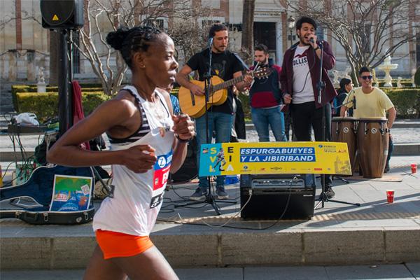 Ven y anima con tu banda de música el Zurich Maratón de Sevilla 2020