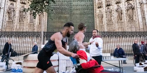 Ganadores del concurso de fotografía del Zurich Maratón de Sevilla