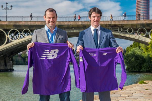 Presentado el cortavientos New Balance del Zurich Maratón de Sevilla 2020