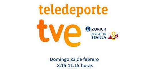 Retransmisión en directo del Zurich Maratón de Sevilla
