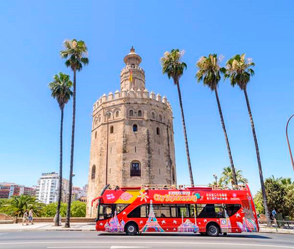 City Sightseeing will transport all participants of the Zurich Marathon of Seville during marathon weekend
