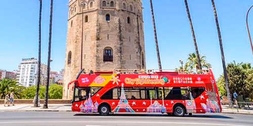 City Sightseeing will transport all participants of the Zurich Marathon of Seville during marathon weekend