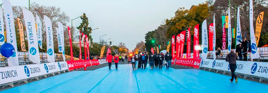 Transports of Zurich Marathon de Seville