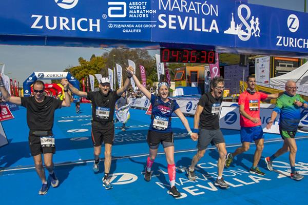 El Zurich Maratón de Sevilla, clasificatorio para los Campeonatos del Mundo de Grupos