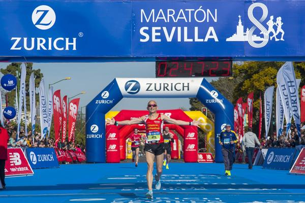 Las inscripciones del Zurich Maratón de Sevilla a ritmo de record