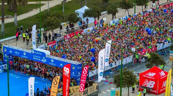 El Zurich Maratón de Sevilla supera los 7.200 inscritos a cuatro meses del 23 de febrero