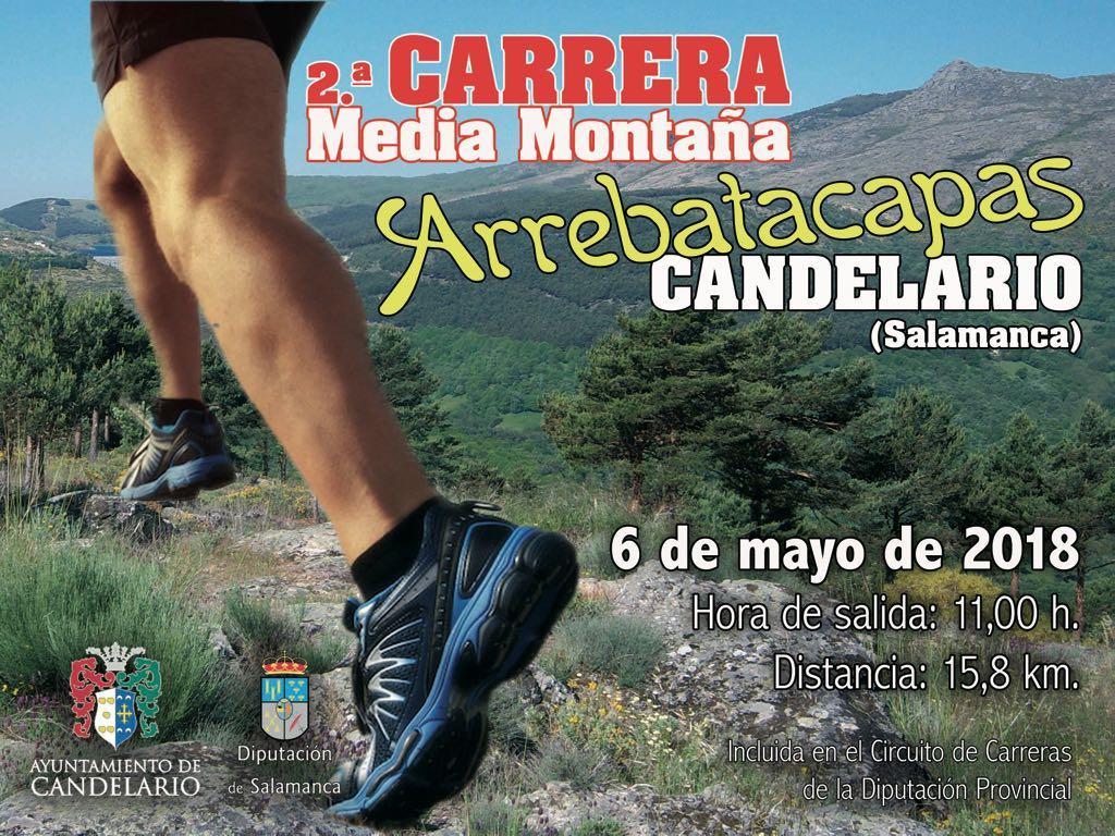II Carrera de Media Montaña Arrebatacapas Candelario