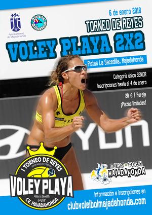 Torneo de Reyes. Voley Playa 2x2
