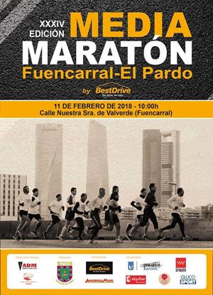 Media Maratón de Fuencarral - El Pardo 2018